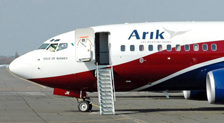 Image result for pictures of arik airline plane