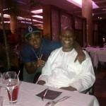 Deji Adeleke and son Davido